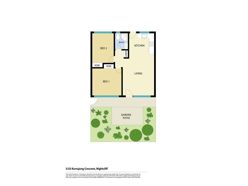3/25 Kurrajong Crescent, Nightcliff, NT 0810 - floorplan