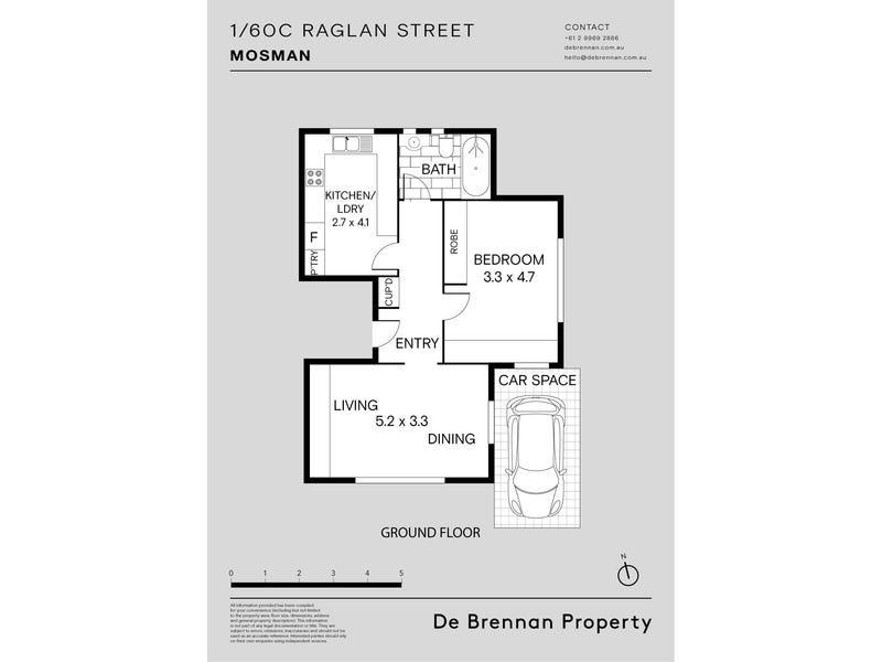 1/60c Raglan Street, Mosman, NSW 2088 - floorplan