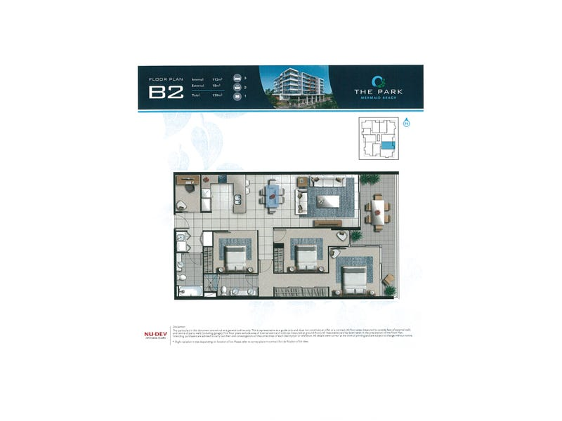 302/9 MARKERI STREET, Mermaid Beach, Qld 4218 - floorplan