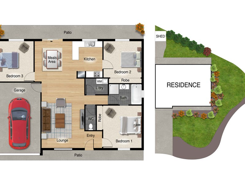 9 Kilburn Close, Dunlop, ACT 2615 - floorplan