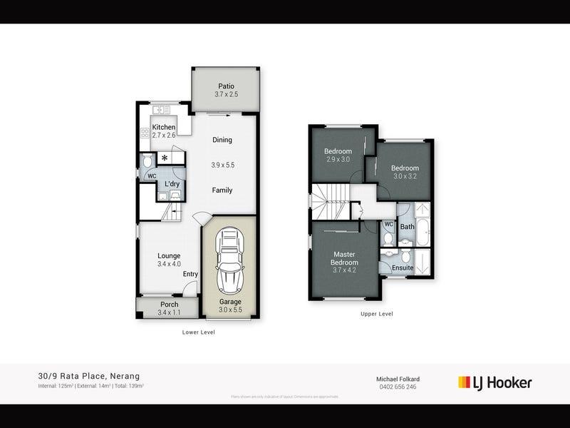 30/9 Rata Place, Nerang, Qld 4211 - floorplan