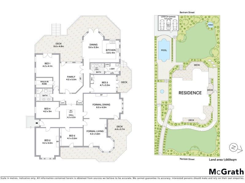 34 Neridah Street, Chatswood, NSW 2067 - floorplan