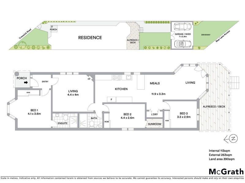 123 Creswick Road, Ballarat Central, Vic 3350 - floorplan