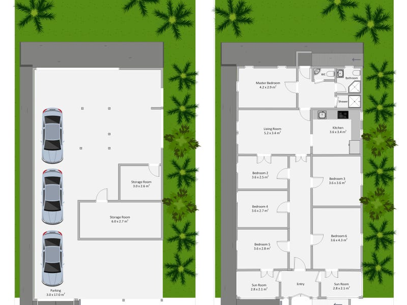 37 Sedgebrook Street, Spring Hill, Qld 4000 - floorplan