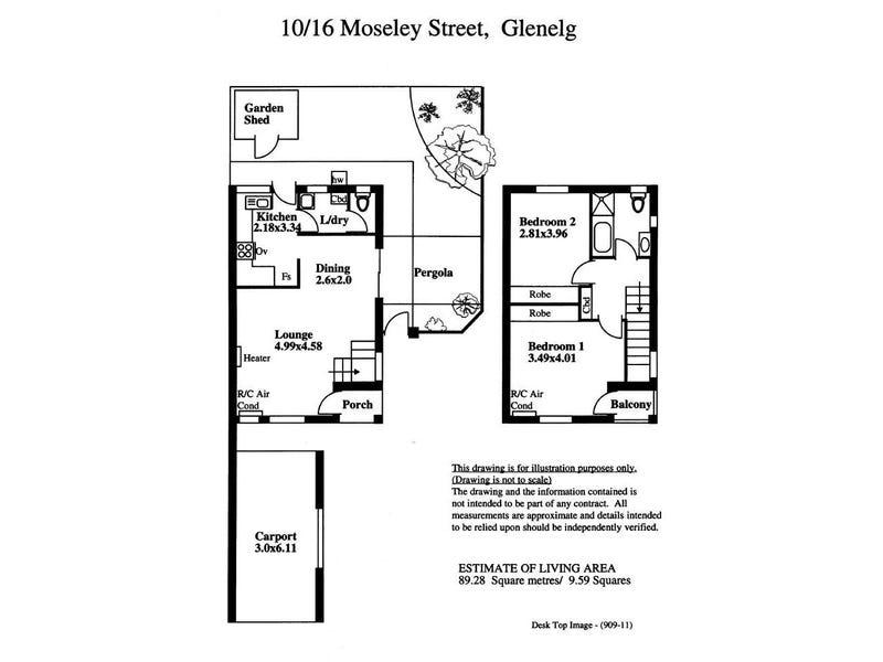 10/16 Moseley Street, Glenelg, SA 5045 - floorplan