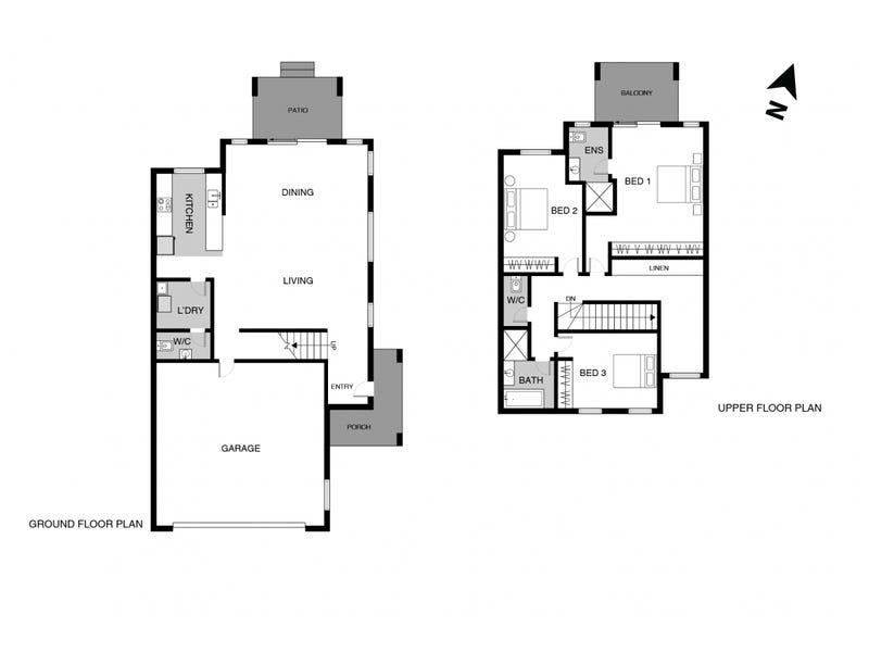 6/1 Jack Ryan Street, Forde, ACT 2914 - floorplan