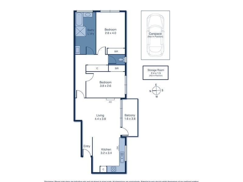 7/78 Walpole Street, Kew, Vic 3101 - floorplan