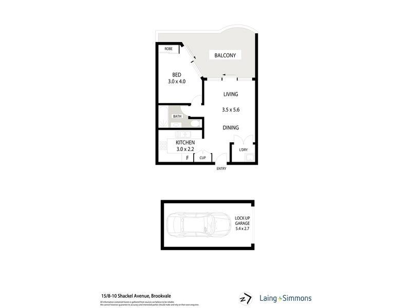 15/8-10 Shackel Ave, Brookvale, NSW 2100 - floorplan