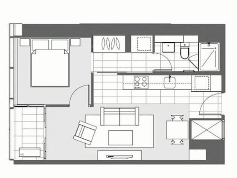 501/639 Lonsdale Street, Melbourne, Vic 3000 - floorplan