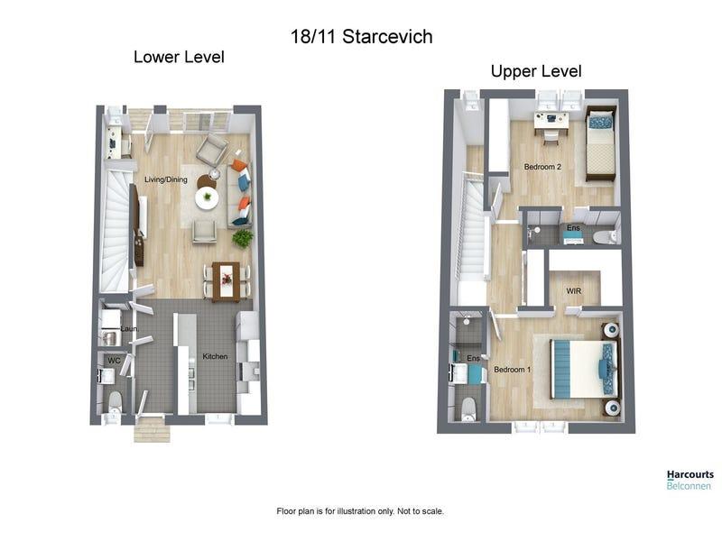 18/11 Starcevich Crescent, Jacka, ACT 2914 - floorplan