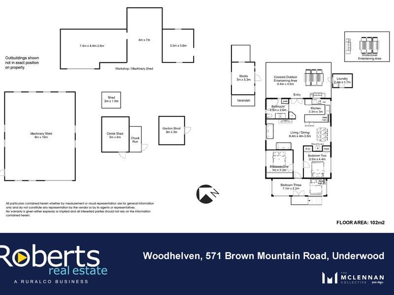 571 Brown Mountain Road, Underwood, Tas 7268 - floorplan
