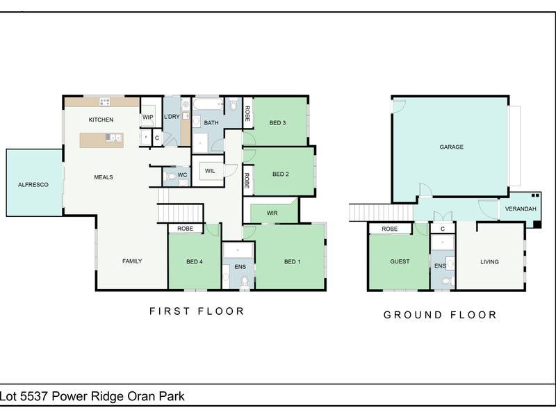3 Power Ridge, Oran Park, NSW 2570 - floorplan