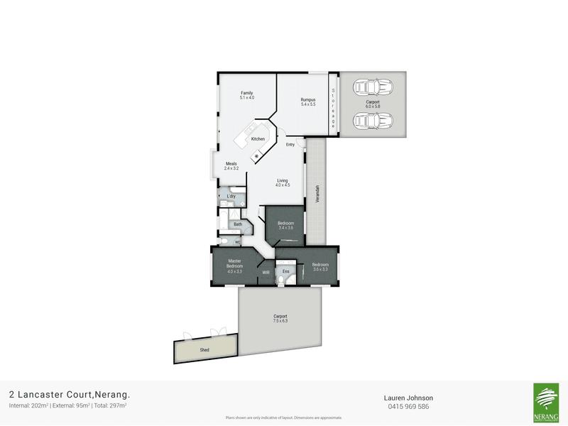 2 Lancaster Court, Nerang, Qld 4211 - floorplan