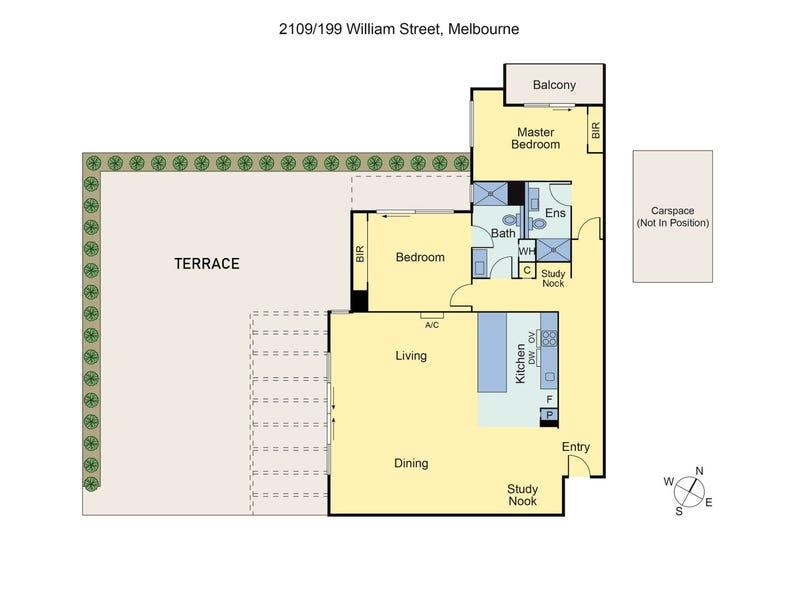 Penthouse/199 William Street, Melbourne, Vic 3000 - floorplan