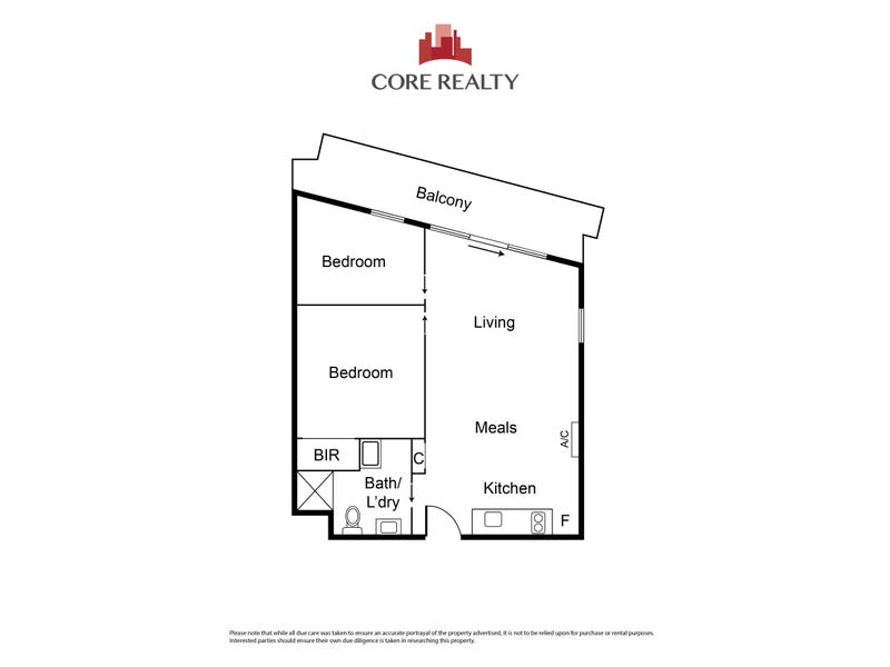 1707/243 Franklin Street, Melbourne, Vic 3000 - floorplan