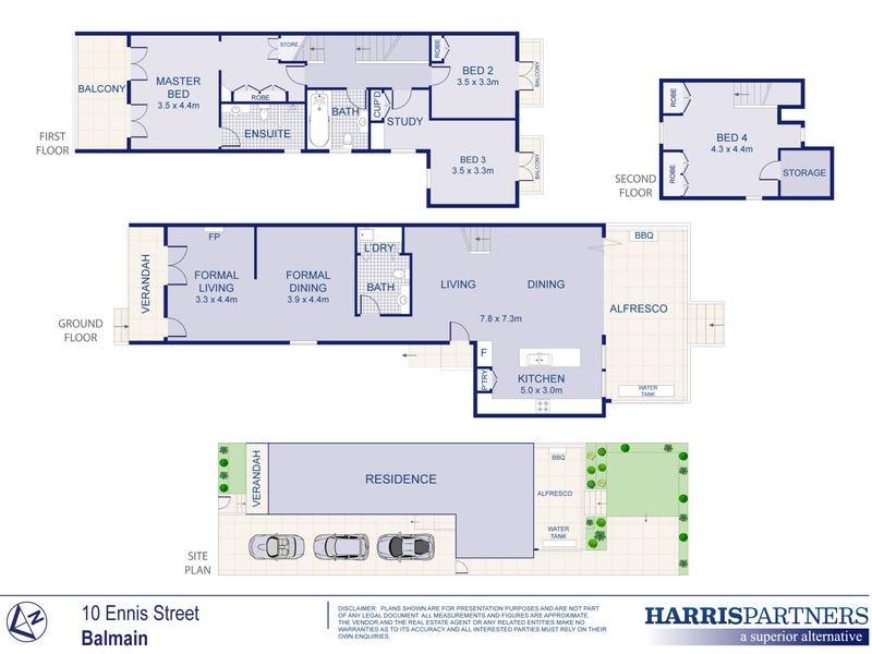 10 Ennis Street, Balmain, NSW 2041 - floorplan