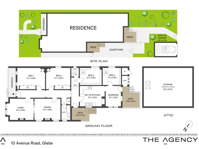 10 Avenue Road, Glebe, NSW 2037 - floorplan