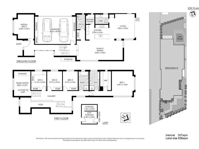 34 View Street, Chatswood, NSW 2067 - floorplan