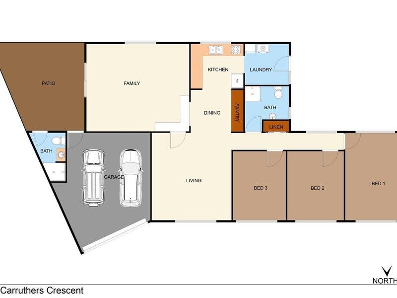 38 Carruthers Crescent, Gillen, NT 0870 - floorplan