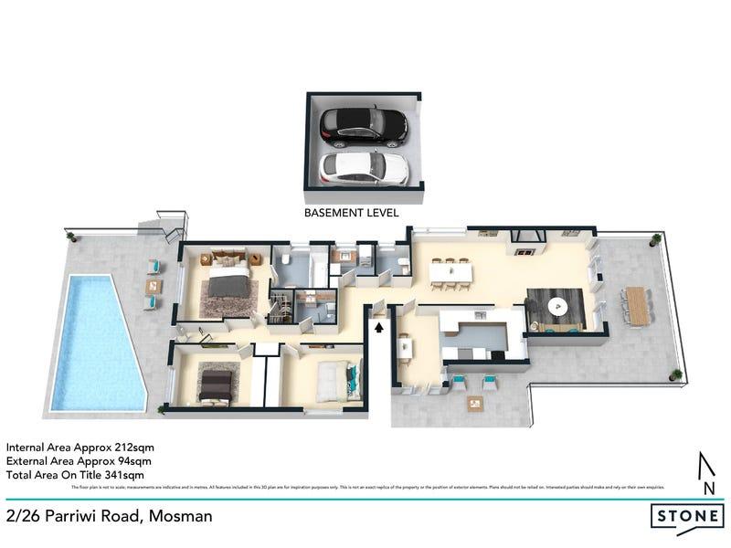 2/26 Parriwi Road, Mosman, NSW 2088 - floorplan