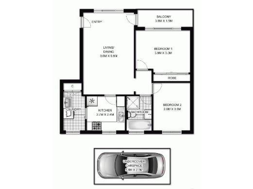 19/58 Orpington Street, Ashfield, NSW 2131 - floorplan