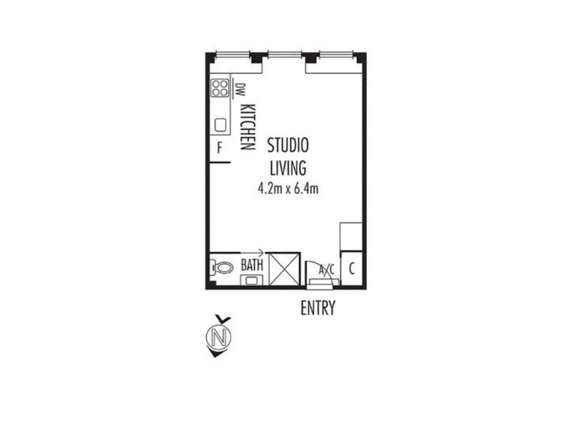 1004/480 Collins Street, Melbourne, Vic 3000 - floorplan