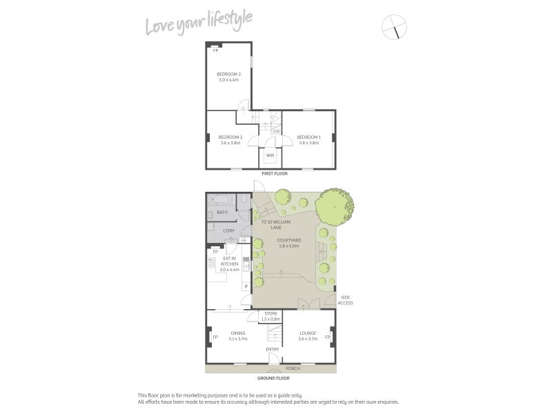 3 Corfu Street & 10 William Lane, Woolloomooloo, NSW 2011 - floorplan