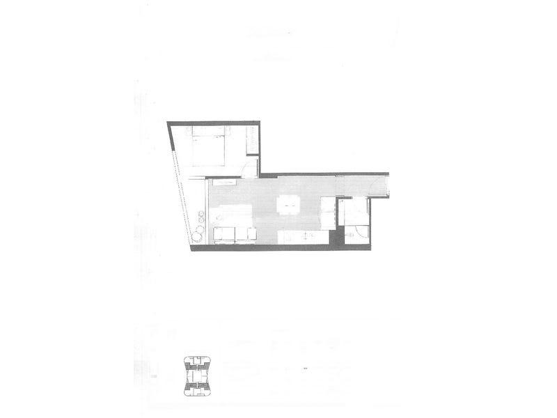 2911/135 A' Beckett Street, Melbourne, Vic 3000 - floorplan