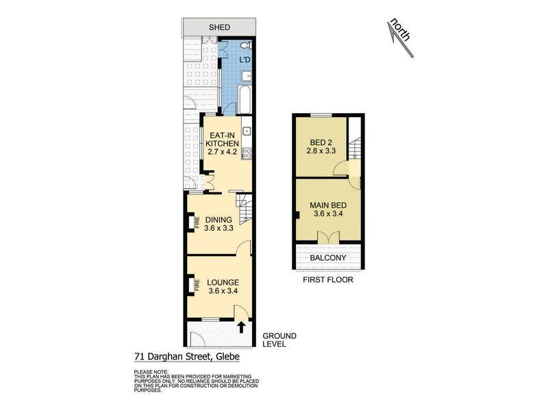 71 Darghan Street, Glebe, NSW 2037 - floorplan