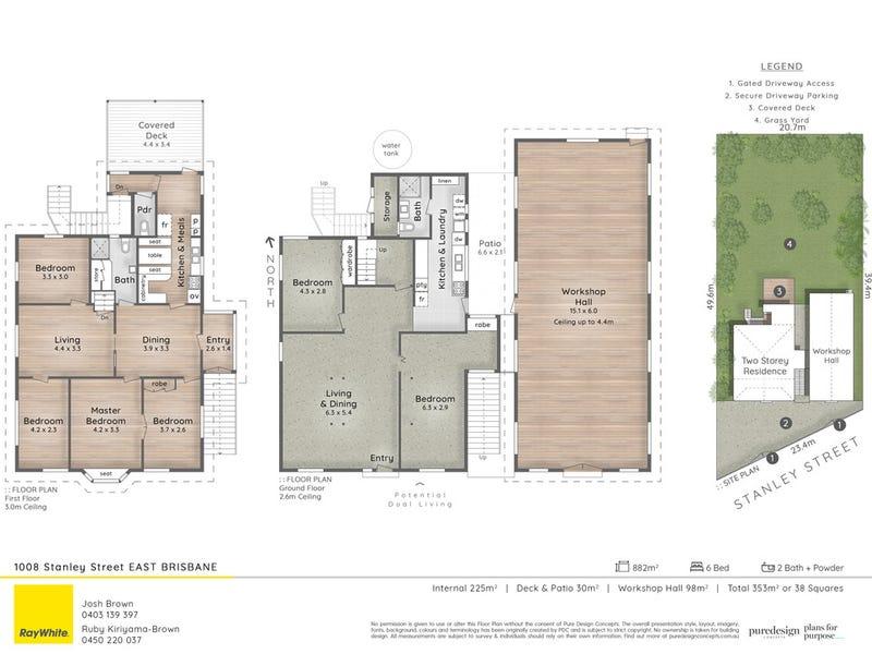 1008-1010 Stanley Street East, East Brisbane, Qld 4169 - floorplan