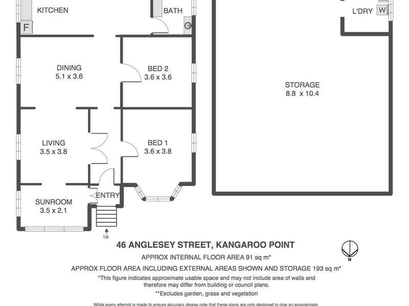 46 Anglesey Street, Kangaroo Point, Qld 4169 - floorplan