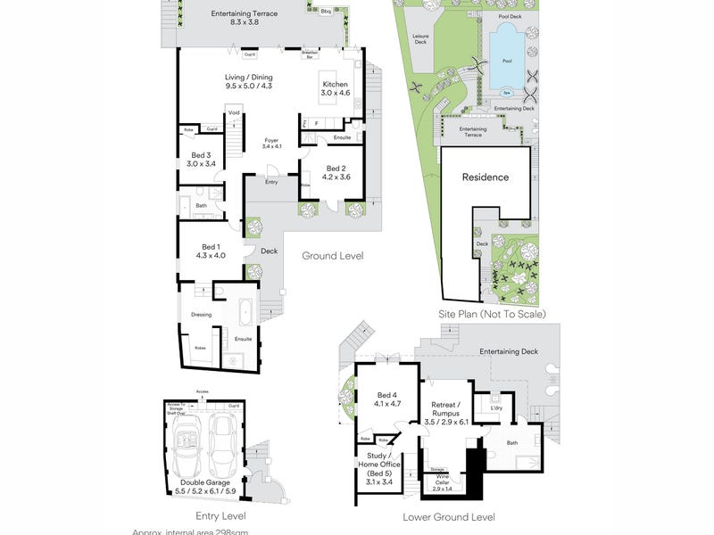 27 Pindari Avenue, Mosman, NSW 2088 - floorplan