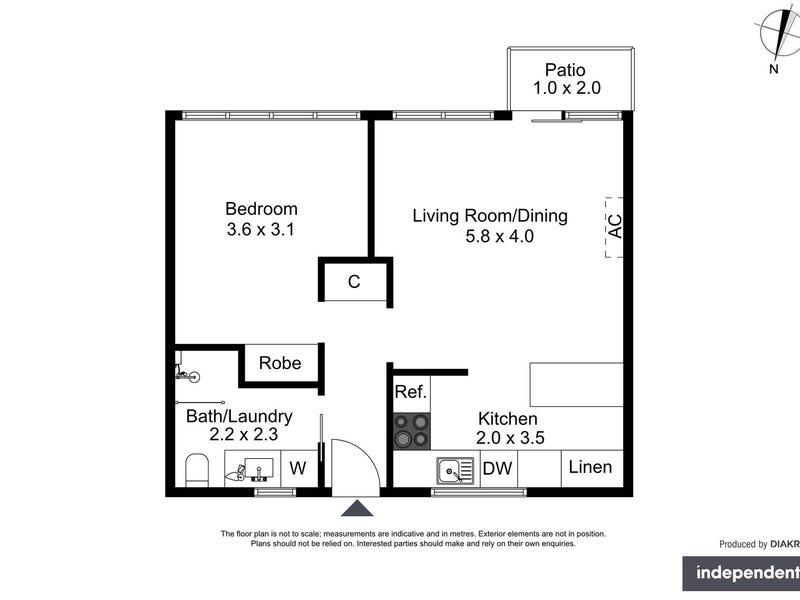 23/145 Carruthers Street, Curtin, ACT 2605 - floorplan