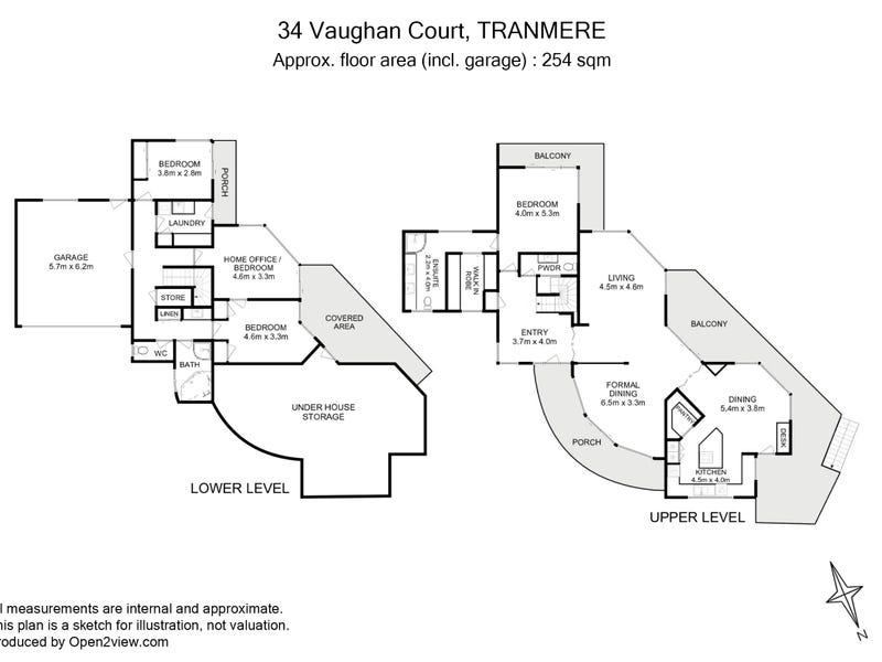 34 Vaughan Court, Tranmere, Tas 7018 - floorplan