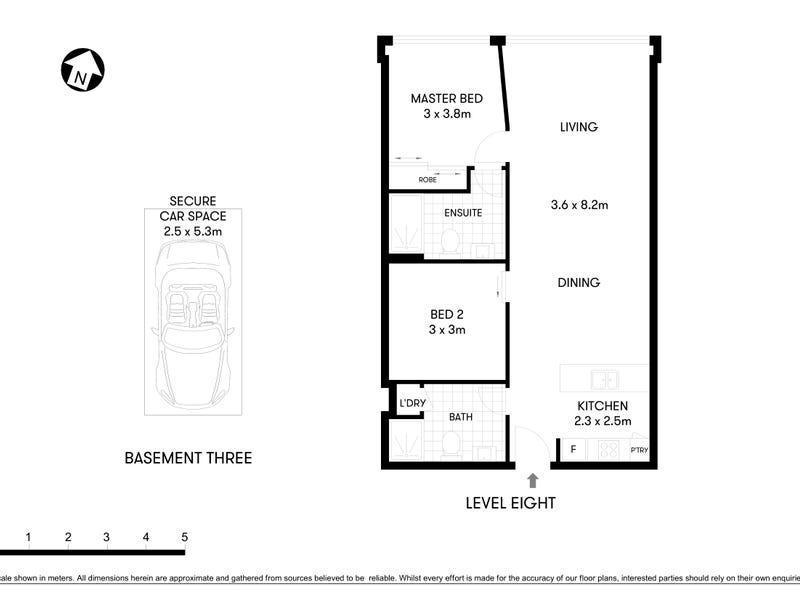 803/88 Archer Street, Chatswood, NSW 2067 - floorplan
