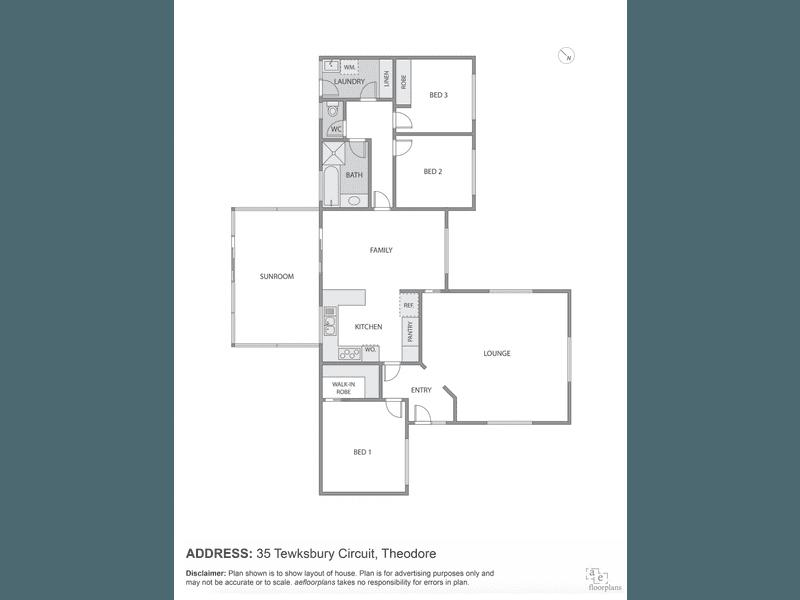 35 Tewksbury Circuit, Theodore, ACT 2905 - floorplan