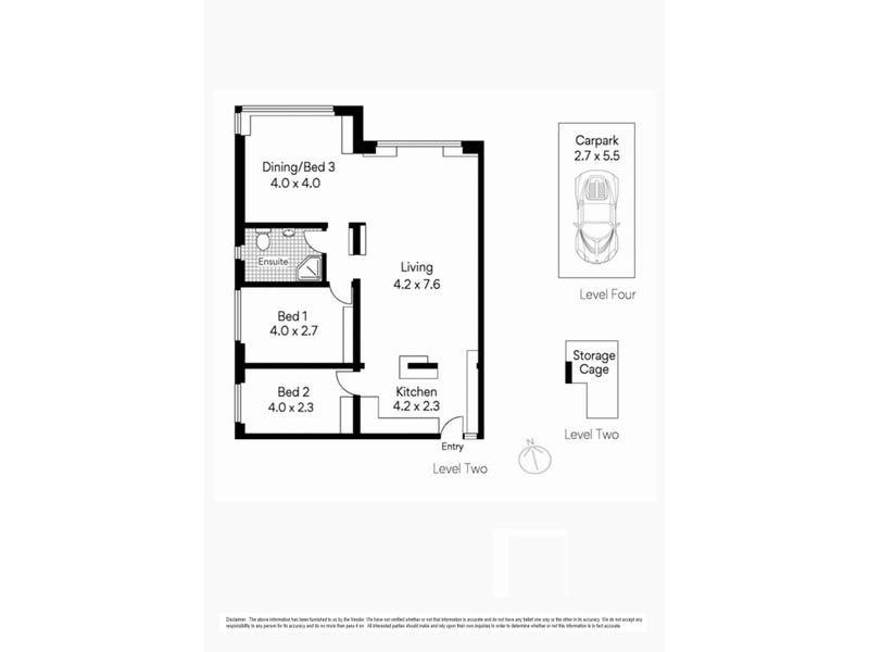 22/6 Wyargine Street, Mosman, NSW 2088 - floorplan