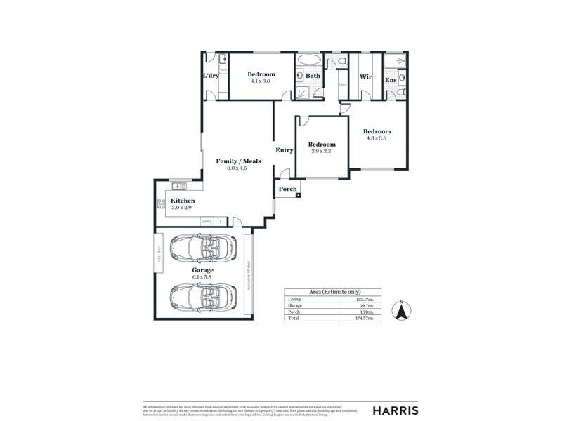 29a Cungena Avenue, Park Holme, SA 5043 - floorplan