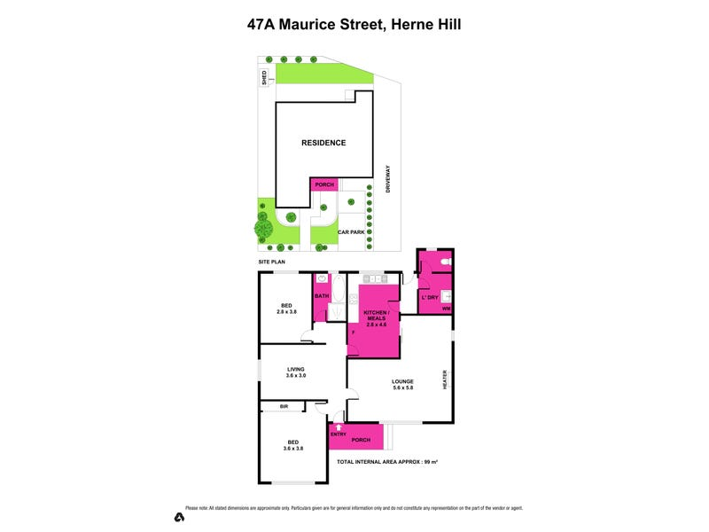 47a Maurice Street, Herne Hill, Vic 3218 - floorplan
