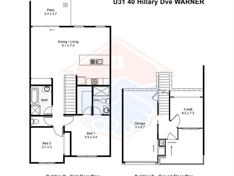 31/40 Hillary Drive, Warner, Qld 4500 - floorplan
