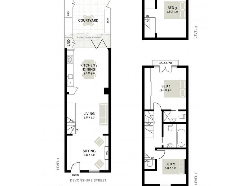 252 Devonshire Street, Surry Hills, NSW 2010 - floorplan