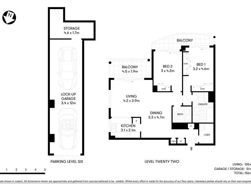 185/1 Katherine Street, Chatswood, NSW 2067 - floorplan