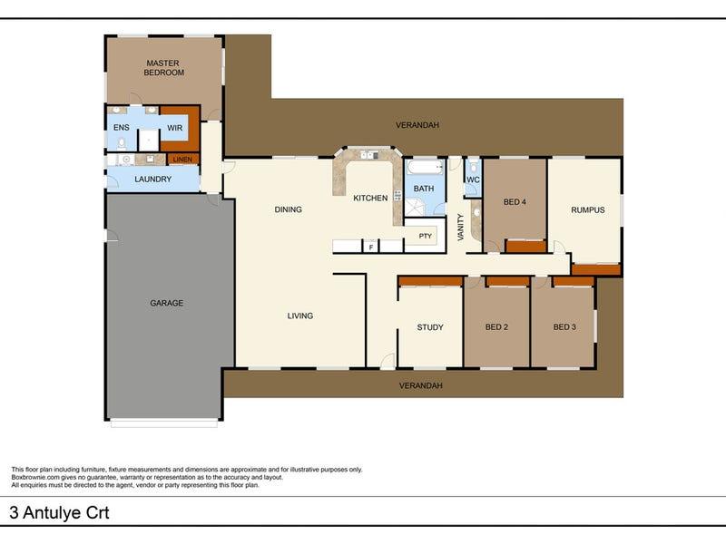 3 Antulye Court, Larapinta, NT 0875 - floorplan