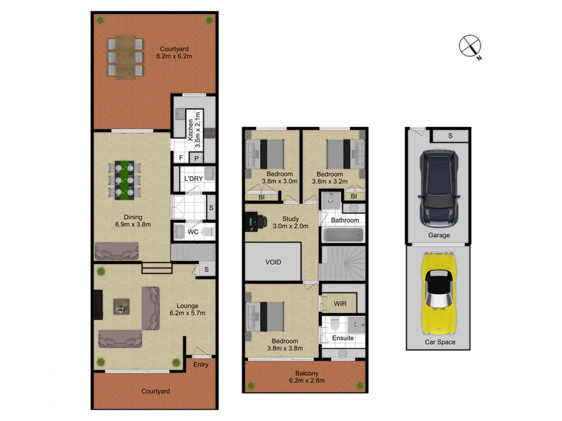 18 Gosse Street, Kingston, ACT 2604 - floorplan