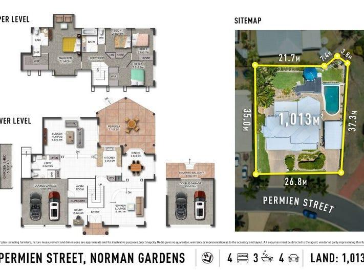 5 Permien Street, Norman Gardens, Qld 4701 - floorplan