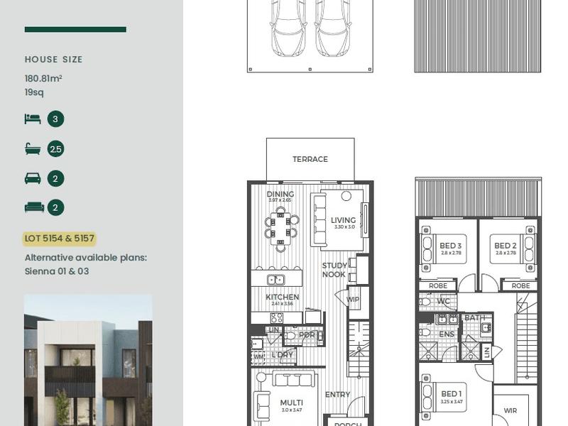 Lot 5157 Antares Loop, Epping, Vic 3076 - floorplan