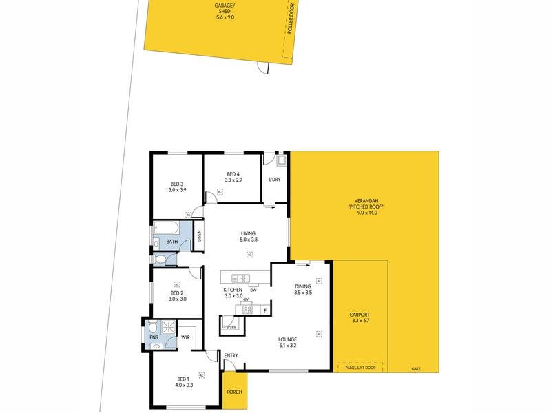 72 Balmoral Circuit, Blakeview, SA 5114 - floorplan