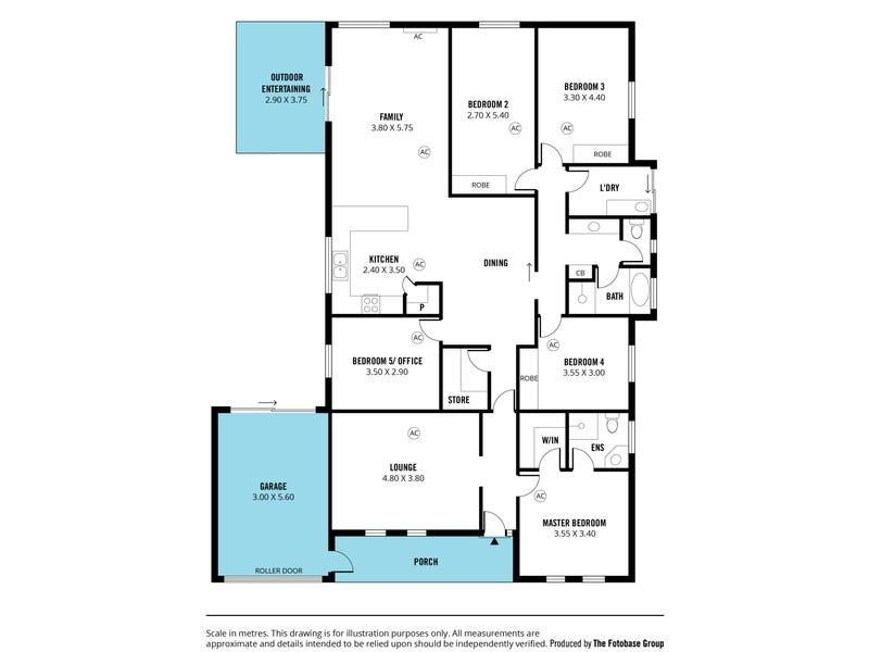56 Parri Link, Noarlunga Downs, SA 5168 - floorplan