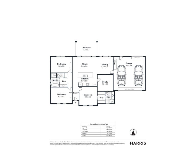 Lot 702/49 Australian Avenue, Clovelly Park, SA 5042 - floorplan