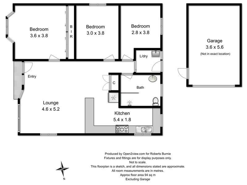 1/5 Falmouth Street, Somerset, Tas 7322 - floorplan